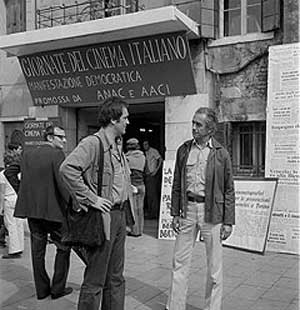B.Bertolucci and M.Antonioni, 1973
